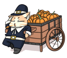 CatRabbit: Thanksgiving sticker #7532110