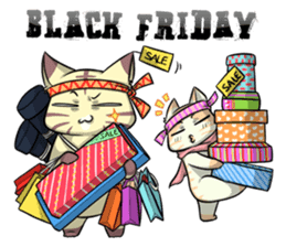 CatRabbit: Thanksgiving sticker #7532113
