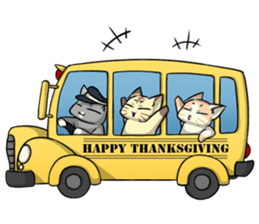 CatRabbit: Thanksgiving sticker #7532117
