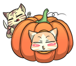 CatRabbit: Thanksgiving sticker #7532120