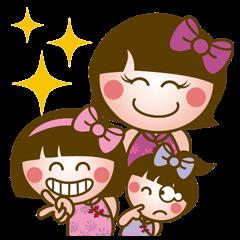 Shiny three sisters