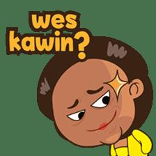 Mrs Ayu. The Javanese woman ( vol 2 ) sticker #7544660