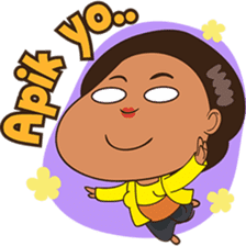 Mrs Ayu. The Javanese woman ( vol 2 ) sticker #7544667