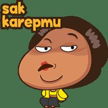 Mrs Ayu. The Javanese woman ( vol 2 ) sticker #7544692