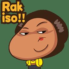 Mrs Ayu. The Javanese woman ( vol 2 ) sticker #7544696