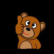 สติ๊กเกอร์ไลน์ Frendy bear.