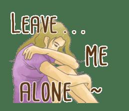 Feelings 2 sticker #7554135