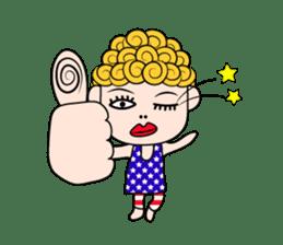 Okan in Kansai of Japan. Silent Version. sticker #7554368