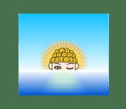 Okan in Kansai of Japan. Silent Version. sticker #7554371