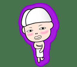 Okan in Kansai of Japan. Silent Version. sticker #7554381