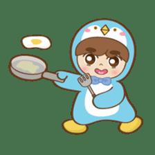 Chubby-Penguin sticker #7556497