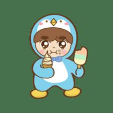 Chubby-Penguin sticker #7556498