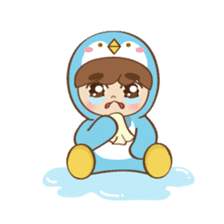 Chubby-Penguin sticker #7556503