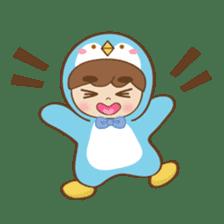 Chubby-Penguin sticker #7556511