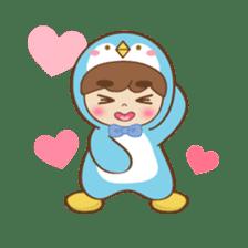 Chubby-Penguin sticker #7556514