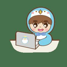 Chubby-Penguin sticker #7556521