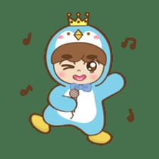 Chubby-Penguin sticker #7556524