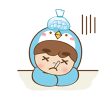 Chubby-Penguin sticker #7556526