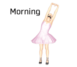 Ballet danna (english) sticker #7557572