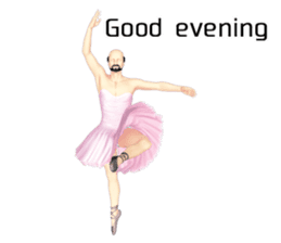 Ballet danna (english) sticker #7557574