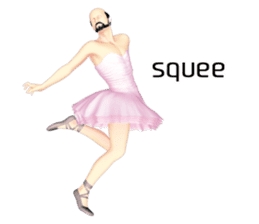 Ballet danna (english) sticker #7557582