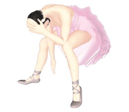 Ballet danna (english) sticker #7557591