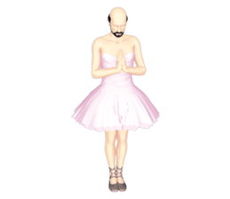 Ballet danna (english) sticker #7557611
