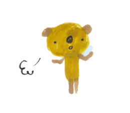 Anano Bear Ku-pi sticker #7558858