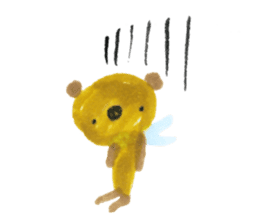 Anano Bear Ku-pi sticker #7558872