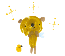 Anano Bear Ku-pi sticker #7558886