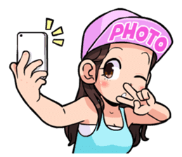 Girls & Snapback : Snapback series 2 sticker #7558922