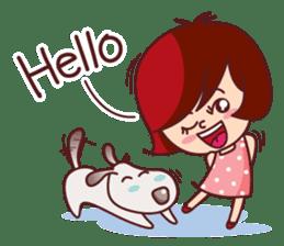 Little Pam 1 (English) sticker #7569959