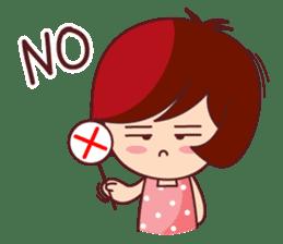 Little Pam 1 (English) sticker #7569977