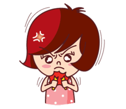 Little Pam 1 (English) sticker #7569983