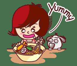 Little Pam 1 (English) sticker #7569986