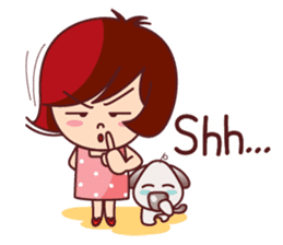 Little Pam 1 (English) sticker #7569990