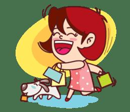 Little Pam 1 (English) sticker #7569991