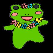 สติ๊กเกอร์ไลน์ adorable frog2