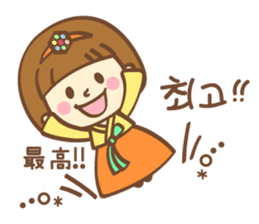 Korean and Japanese cute stickers sticker #7575305
