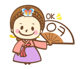 Korean and Japanese cute stickers sticker #7575308