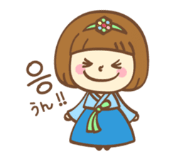 Korean and Japanese cute stickers sticker #7575310