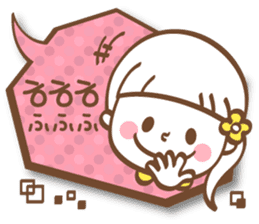 Korean and Japanese cute stickers sticker #7575318