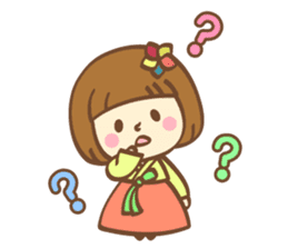 Korean and Japanese cute stickers sticker #7575336