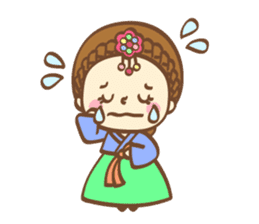 Korean and Japanese cute stickers sticker #7575338