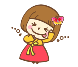 Korean and Japanese cute stickers sticker #7575339
