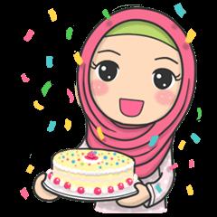 Flower Hijab 3