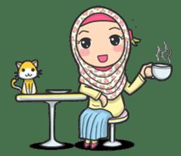 Flower Hijab 3 sticker #7583822