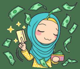 Flower Hijab 3 sticker #7583824