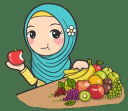 Flower Hijab 3 sticker #7583826