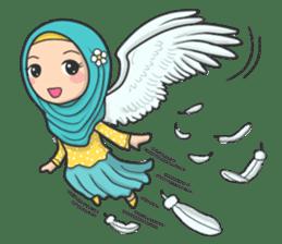 Flower Hijab 3 sticker #7583827